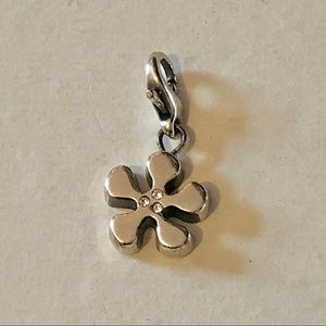 🆕Listing! Brighton silver flower clip on charm